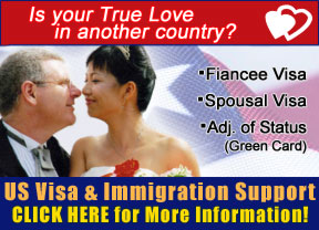 We can help you bring your loved one to the USA!